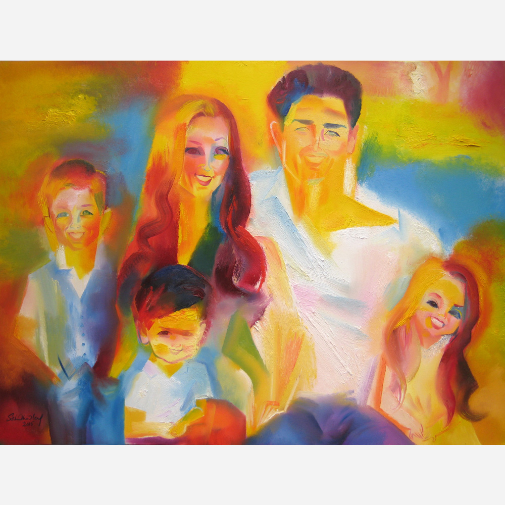 The Reeves Family. 2015, by Stephen B. Whatley