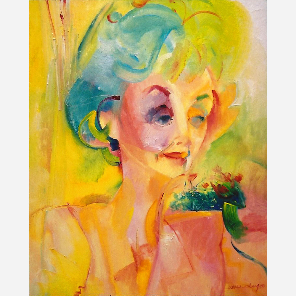 Lana Morris. 1993, by Stephen B. Whatley