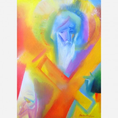 Saint Andrew. 2012, by Stephen B. Whatley