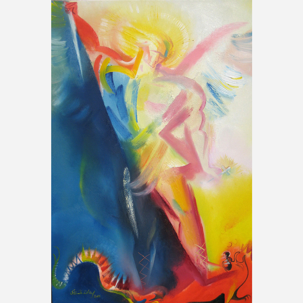 Saint Michael the Archangel. 2010, by Stephen B. Whatley