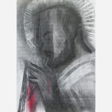 Saint Padre Pio of Pietrelcina. 2011, by Stephen B. Whatley