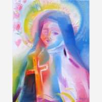 Saint Thérèse of Lisieux. 2011, by Stephen B. Whatley