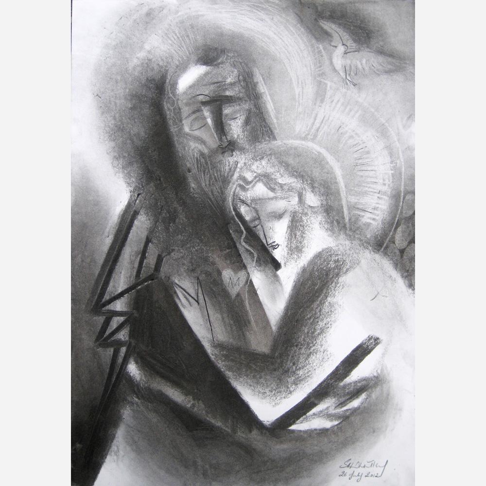 Saints Joachim & Anne. 2012, by Stephen B. Whatley