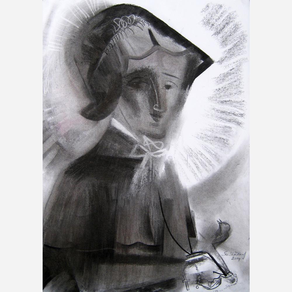 Saint Elizabeth Ann Seaton. 2014, by Stephen B. Whatley