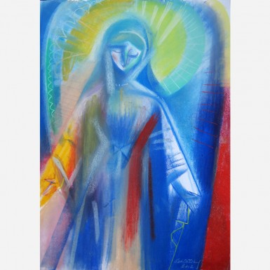 The Virgin Mary of Breezy Point, NY. 2012 by Stephen B. Whatley