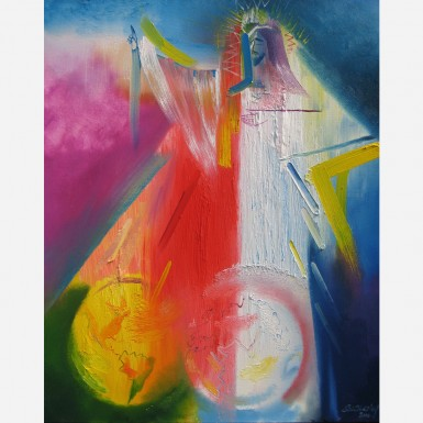 Divine Mercy for The World. 2010, by Stephen B. Whatley