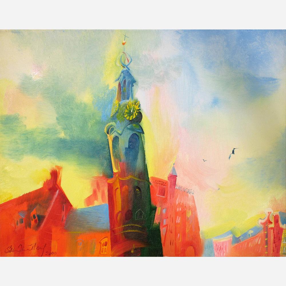 Muntorren, Amsterdam. 2000, by Stephen B. Whatley
