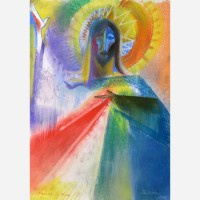 Feast Day of Divine Mercy. 2009, by Stephen B. Whatley