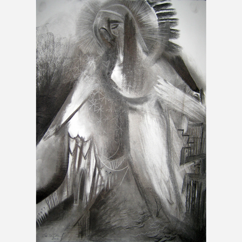 Our Lady of New York. 2012, by Stephen B. Whatley
