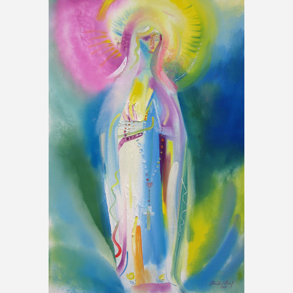 Our Lady of Lourdes. 2011 by Stephen B. Whatley