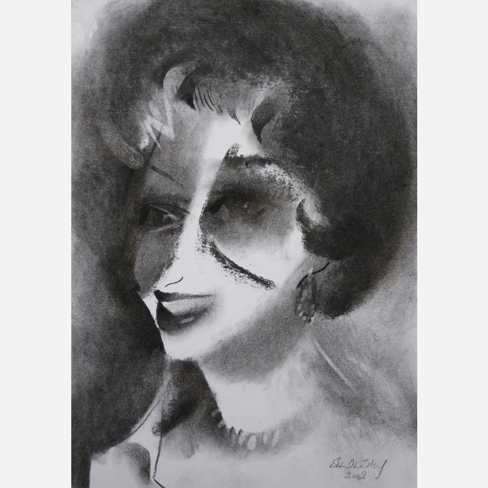 The Chic Princess 1958. 2002 by artist Stephen B. Whatley
