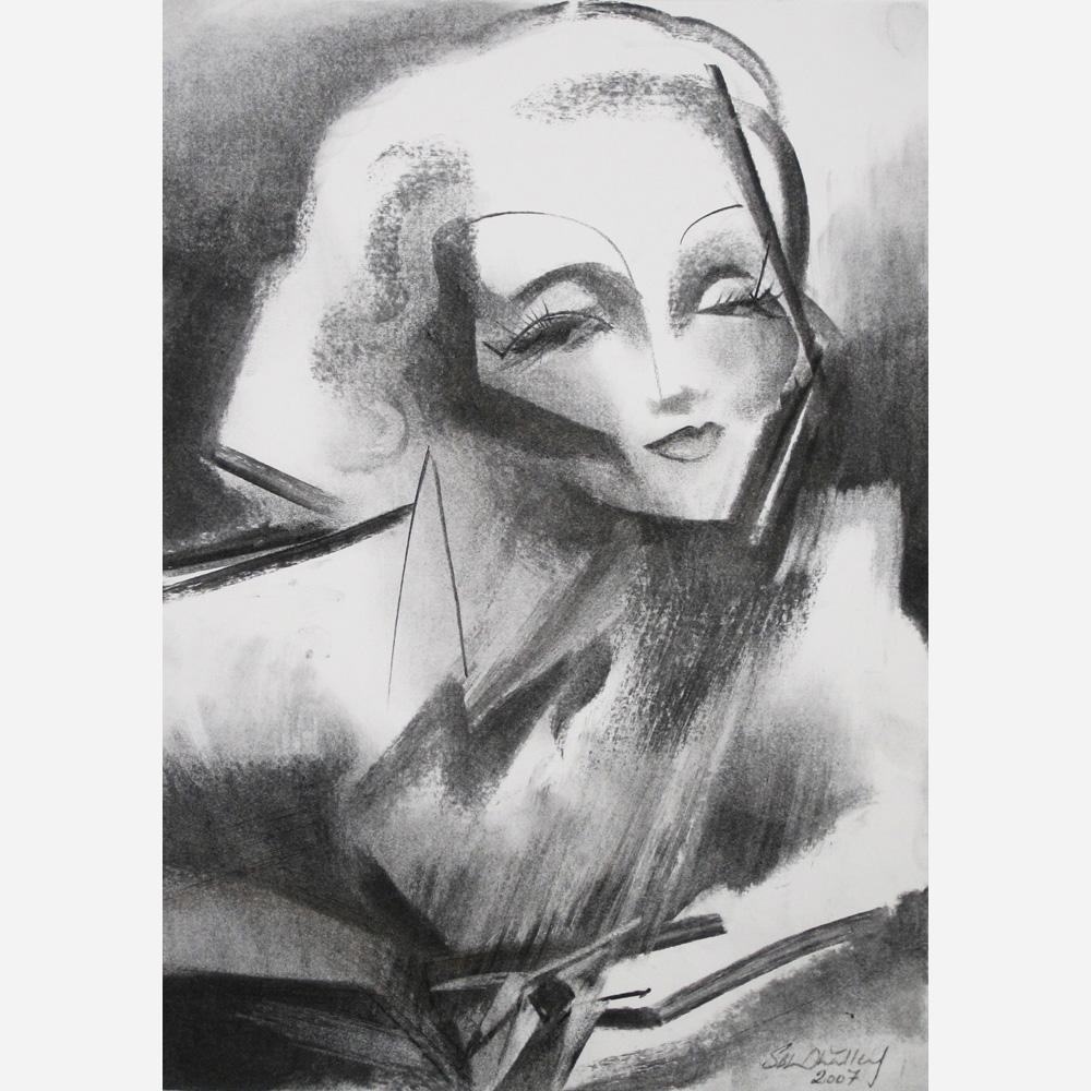 Marlene Dietrich. 2007 by Stephen B. Whatley