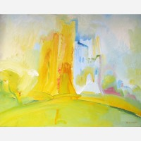 Orford Castle. 1990 by Stephen B. Whatley