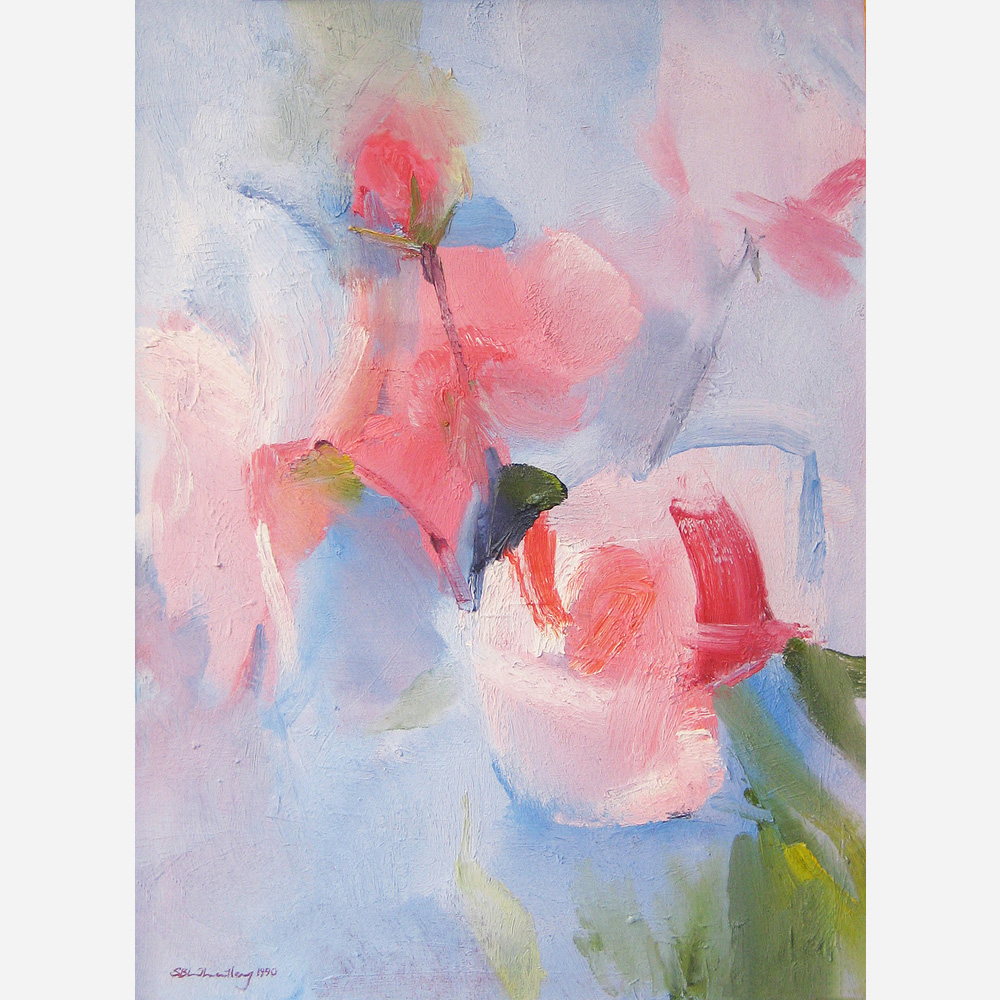 Roses. 1990 by Stephen B. Whatley