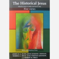 Stephen B. Whatley art published on book cover - Ther Historical Jesus - Five Views. ( SPCK Books 2010)