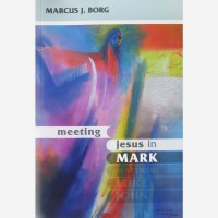 Stephen B. Whatley art published on book cover - Meeting Jesus in Mark by Marcus J. Borg (SPCK Books 2011)