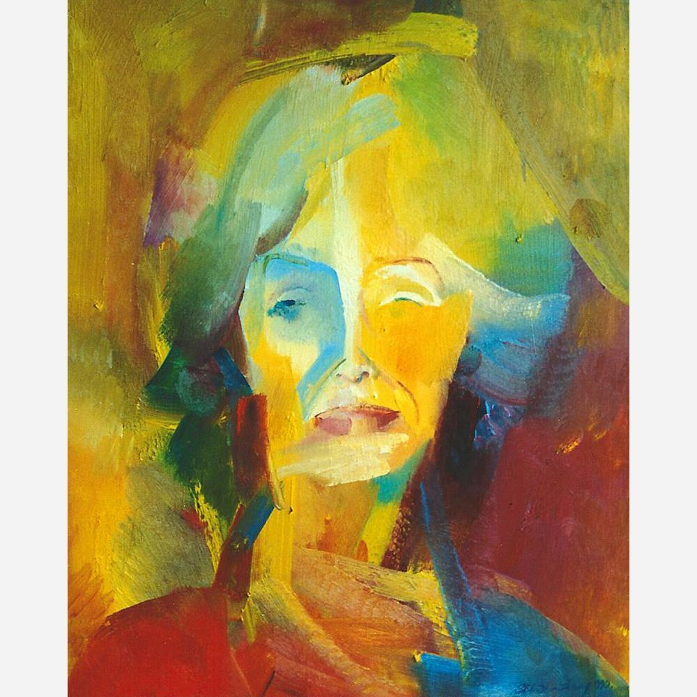 Virginia McKenna OBE. 1992 by Stephen B Whatley
