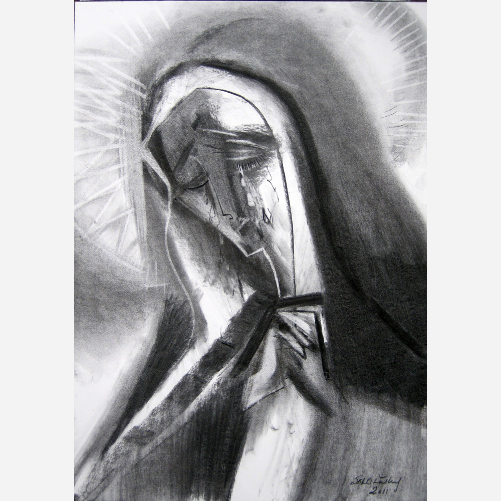 Our Lady of Sorrows. 2011 by Stephen B. Whatley