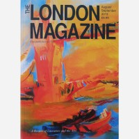 Detail from Tower Bridge 2000 by Stephen B. Whatley - Cover, The London Magazine. August_September 2013