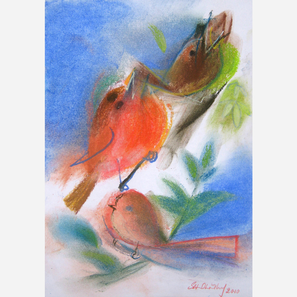 Spring of Birdsong. 2010 by Stephen B. Whatley
