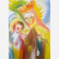 Our Lady of Mount Carmel. 2013 by Stephen B. Whatley