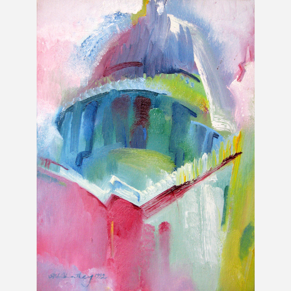 The Dome of St Paul's. 1992 by Stephen B. Whatley