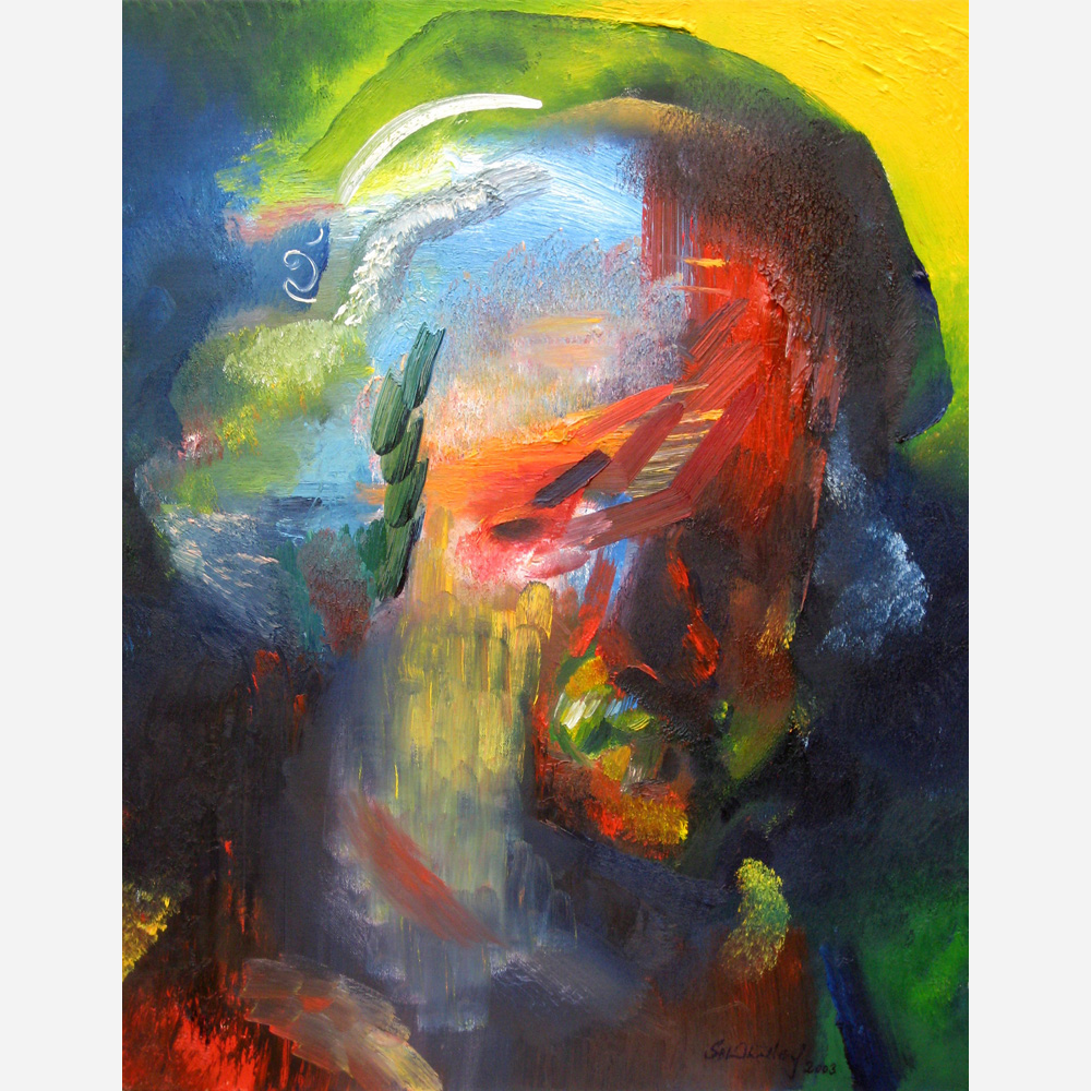 Rembrandt - 334th Anniversary Tribute. 2003 by Stephen B. Whatley