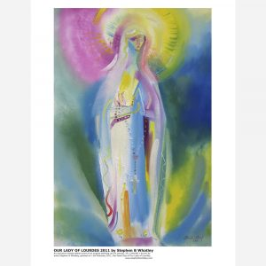 Our Lady of Lourdes 2011 by Stephen B. Whatley - Print