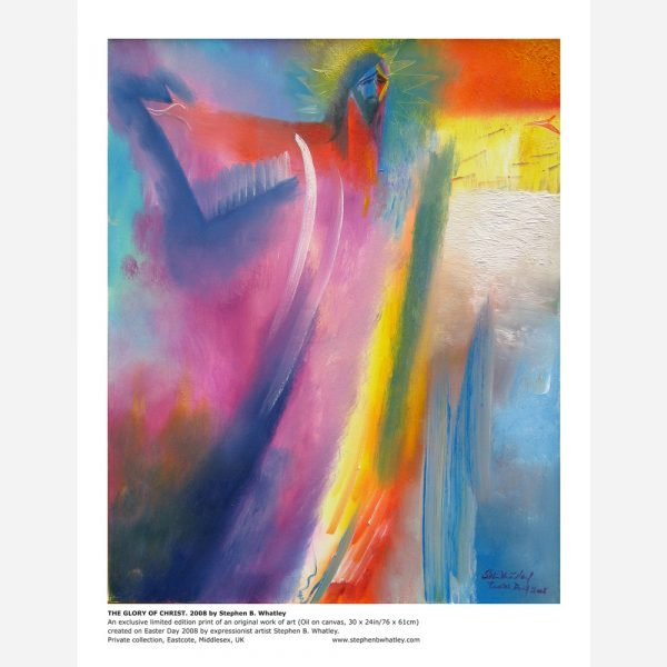 The Glory of Christ. 2008 by Stephen B. Whatley - Print