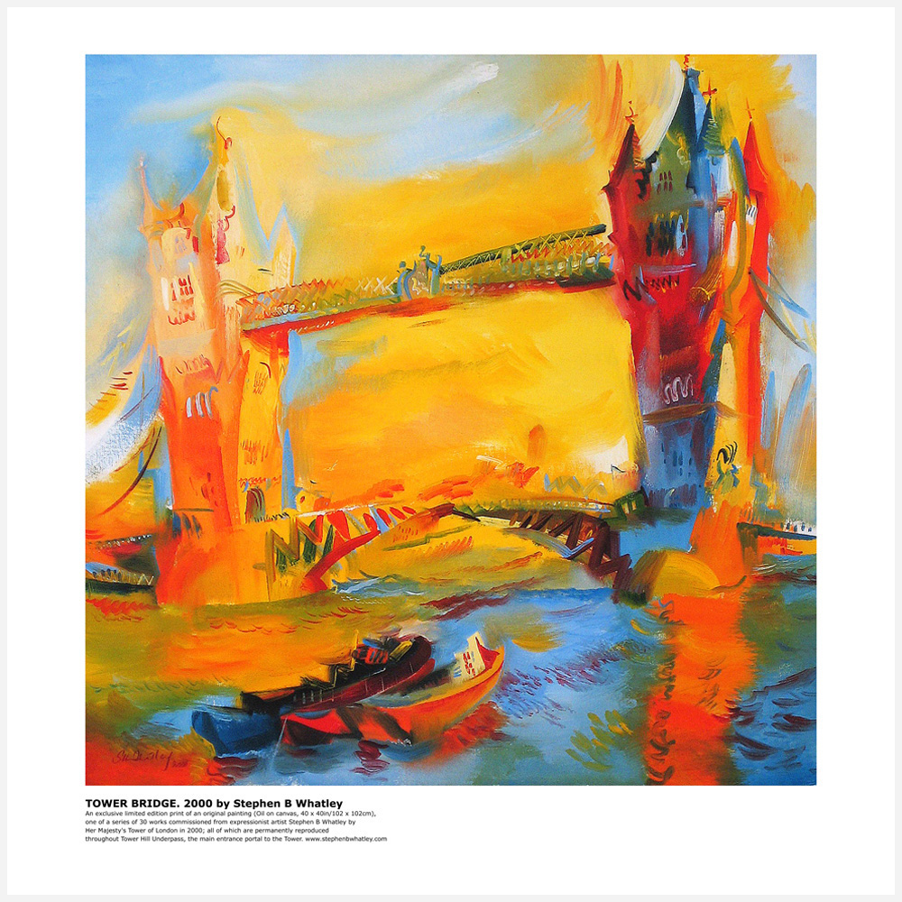 Tower Bridge 2000 by Stephen B. Whatley - Large Print