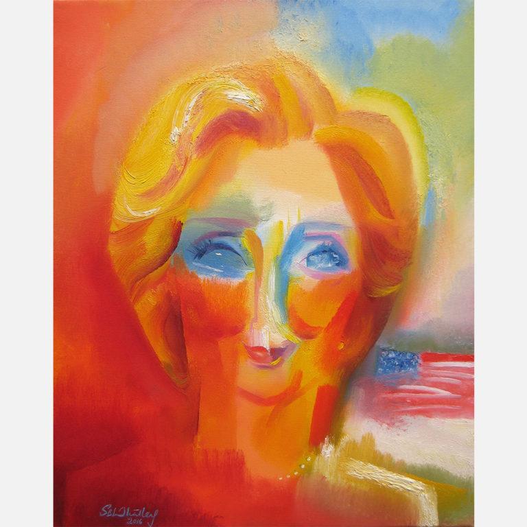 Hillary Clinton. 2016 by Stephen B. Whatley