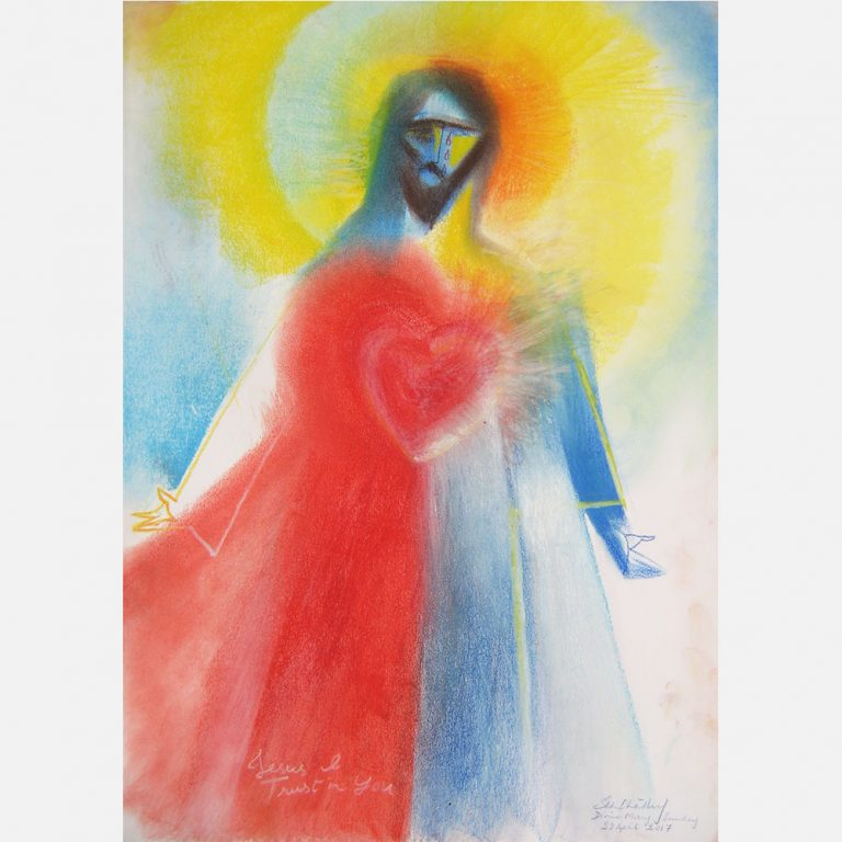 Heart of Divine Mercy. 2017 by Stephen B. Whatley