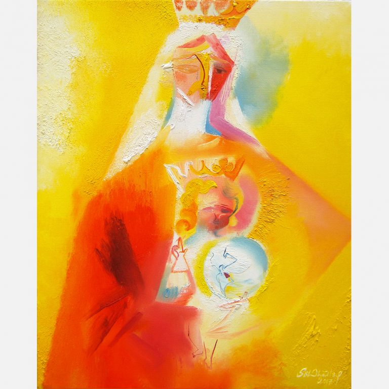 Our Lady of Venezuela 2017 by Stephen B Whatley