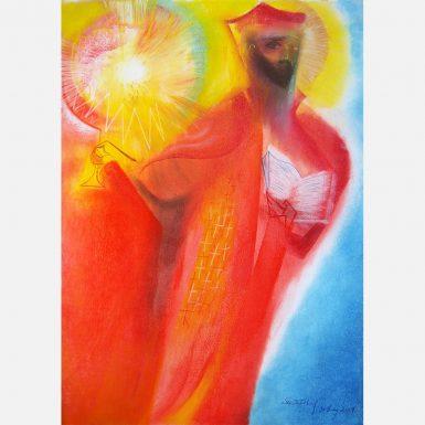 Saint Ignatius of Loyola. 2017 by Stephen B Whatley