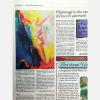 Stephen B Whatley Feature in The Catholic Universe newspaper. September 2017