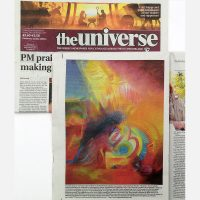 Stephen B Whatley feature in The Universe newspaper - December 2017
