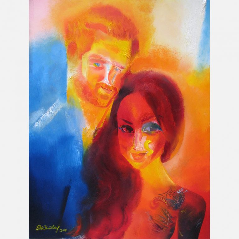 Prince Harry & Meghan Markle 2018 by Stephen B. Whatley
