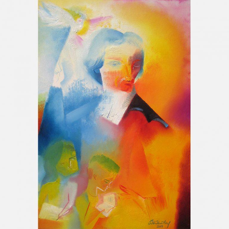 Saint John Baptist de La Salle : 300th Anniversary Tribute. 2019 by Stephen B. Whatley
