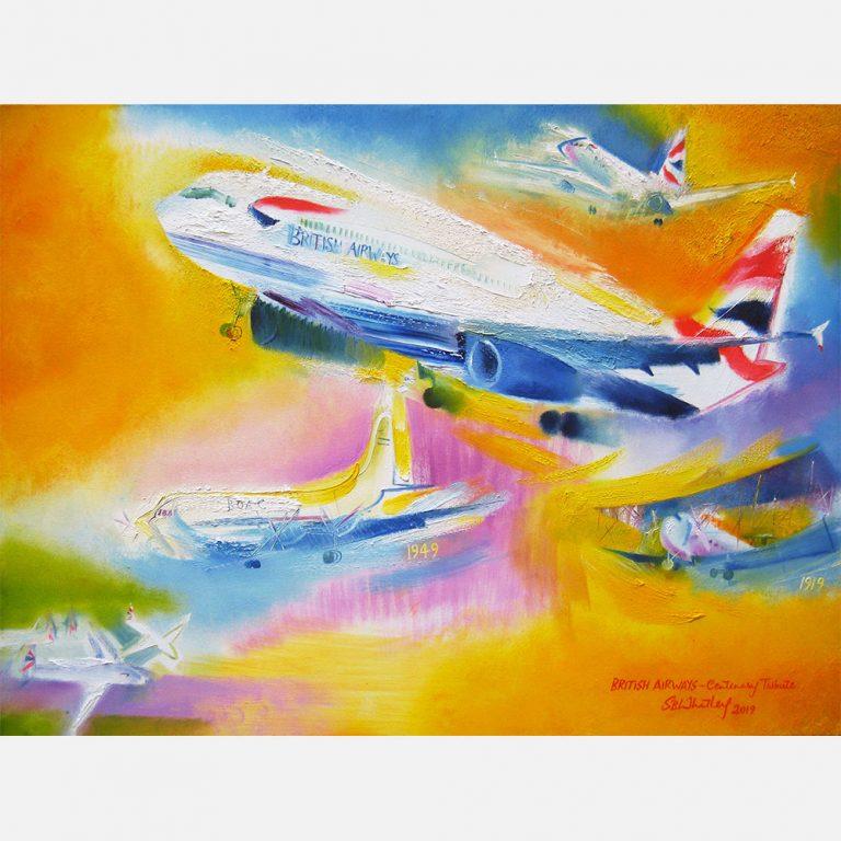 BRITISH AIRWAYS – CENTENARY TRIBUTE. 2019