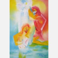 The Baptism of Christ. 2020 by Stephen B. Whatley
