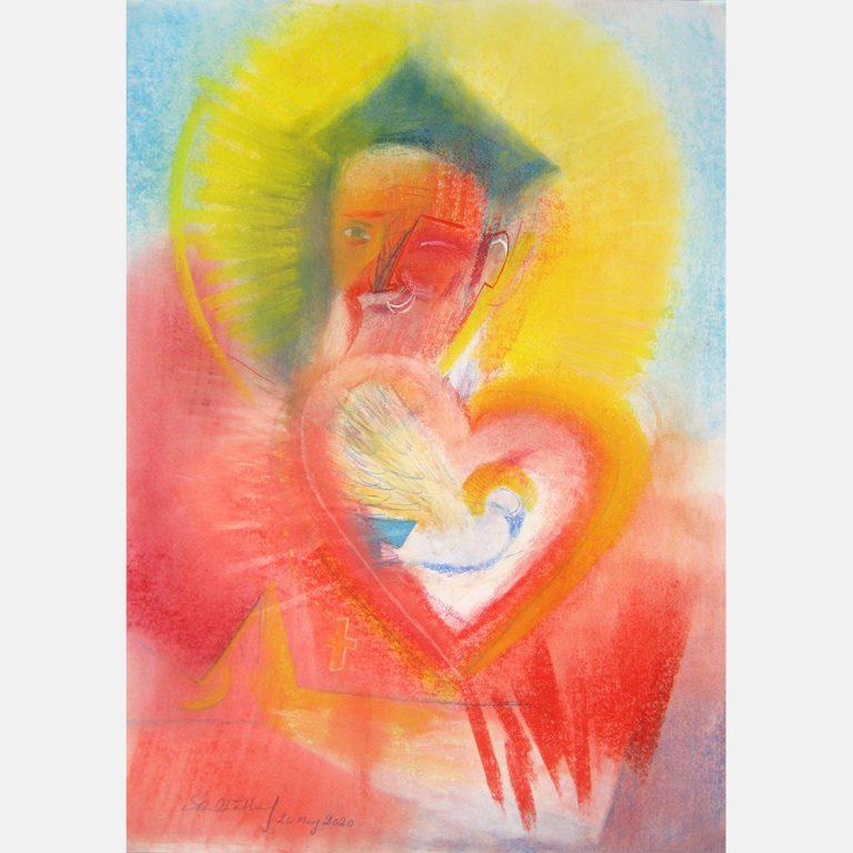 Saint Philip Neri. 2020 by Stephen B. Whatley