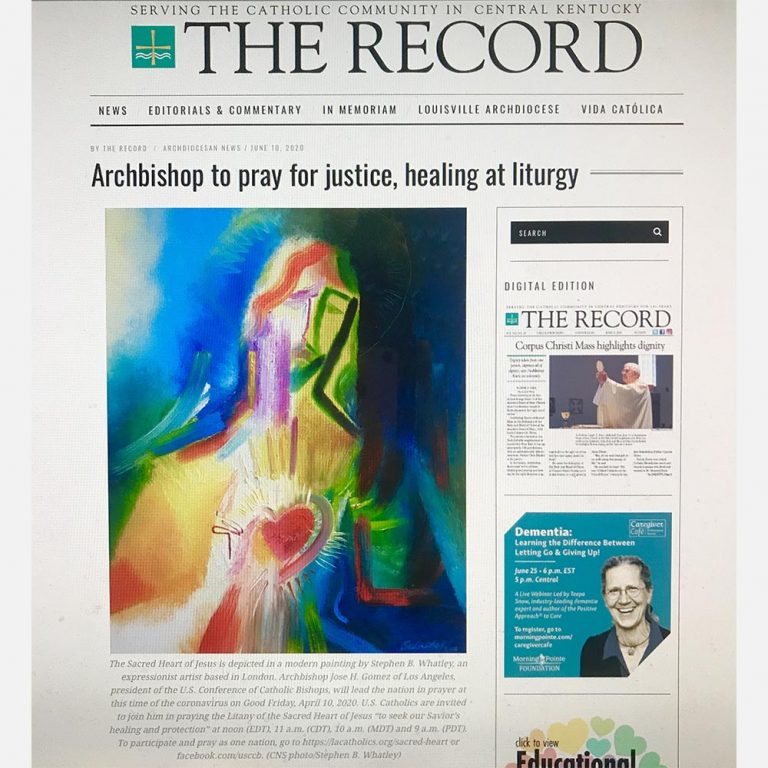 Stephen B. Whatley - The Record (USA) online feature - 10 June 2020
