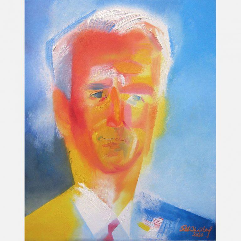 Joe Biden. 2020 by Stephen B. Whatley