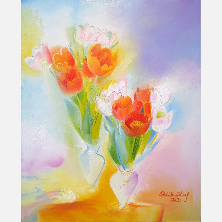 Valentine Tulips - Presidents' Day 2021 by Stephen B. Whatley