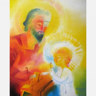 Saint Joseph The Worker. 2021 by Stephen B. Whatley