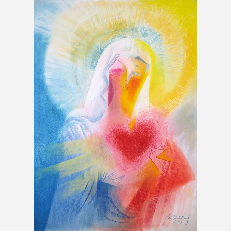 The Immaculate Heart of Love of Mary. 2021 by Stephen B. Whatley